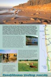 Ziemeļvidzemes biosfēras rezervāts - Piekrastes biotopu ...