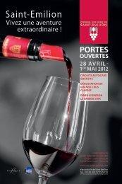 Télécharger le dépliant - Vins de Saint-Emilion