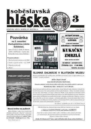 Pozvánka - Město Soběslav