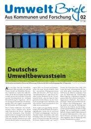 Deutsches Umweltbewusstsein