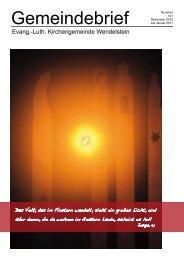 Weihnachten - ev-kirche-wendelstein.de