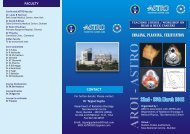 22nd - 25th March 2012 - ACTREC