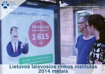Lietuvos laisvosios rinkos institutas 2014 metais