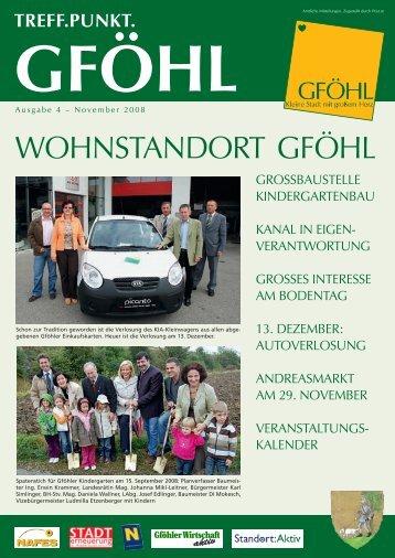 WoHNSTANDoRT GFöHL - Stadtgemeinde Gföhl