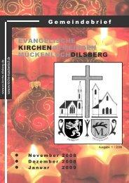 Gottesdienste - Evangelische Kirchengemeinde Mückenloch