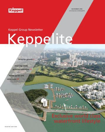 Exclusive world class waterfront lifestyle - Keppel Corporation