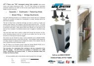 JETFilter THE Maintainable weephole drainage filters