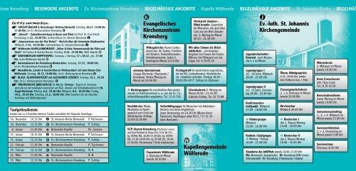 Kalender Dez. 2005 - Anf. Feb. 2006 - St. Johannis Bemerode