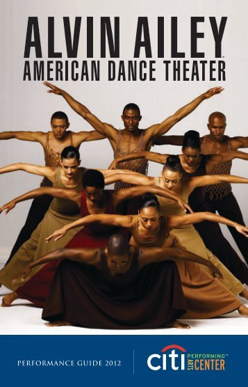 PERFORMANCE GUIDE 2012 - Citi Performing Arts Center