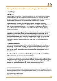 Rollenspiel Internationale Klimaverhandlungen – Der Klimapoker