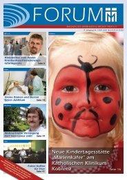 """Neue Kindertagesstätte """"Marienkäfer"""" am Katholischen Klinikum ..."""