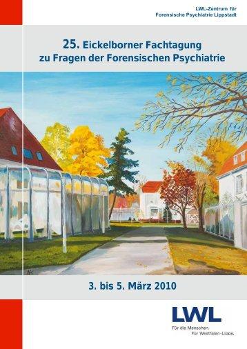 25. Eickelborner Fachtagung - Zentrum für Forensische Psychiatrie ...