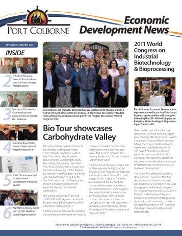 Bio Tour showcases Carbohydrate Valley - City of Port Colborne