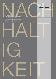GRI-Bericht 2010 - Geberit International AG