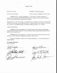 RESOLUTION COUNTY OF LEE PROJECT NO. LCP 41-101-08 ...