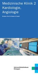 Patientenbroschüre - Medizin 2 - Universitätsklinikum Erlangen