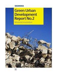 Green Urban Development Report No.2 - Skanska