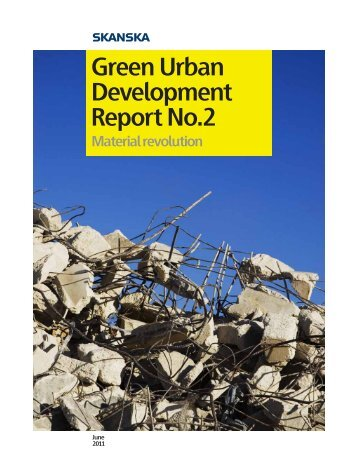 Green Urban Development Report No.2 - Skanska