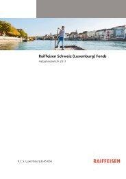 Raiffeisen Schweiz (Luxemburg) Fonds