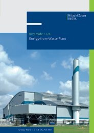 Riverside / UK Energy-from-Waste Plant - Hitachi Zosen Inova AG