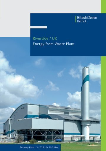 Riverside / UK Energy-from-Waste Plant - Hitachi Zosen Inova AG