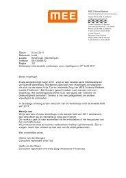 Datum 6 juni 2011 Referentie hvdd Locatie Eindhoven | De Kempen ...