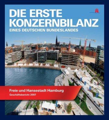 DIE ERSTE KONZERNBILANZ - hamburg.de