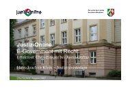 Justiz-Online E-Government mit Recht: - Oev-symposium.de