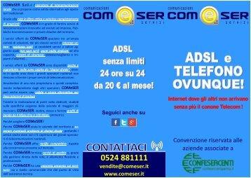 VOLANTINO convenzione CONFESERCENTI-COMESER