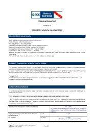 acquisto/vendita valuta estera - banca dell'elba