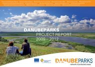 DANUBEPARKS Project Report 2009-2012