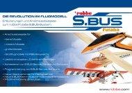 Prospekt S.BUS-Serie - Robbe