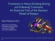 Latent Markov models - UCLA Integrated Substance Abuse Programs