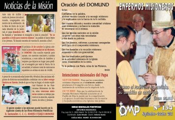 05 Septiembre-Octubre.qxd - Obras Misionales Pontificias