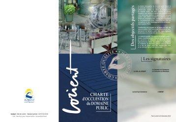 charte d'occupation du domaine public - Lorient