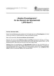 SFD-Sport Fragebogen