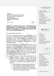 Musteranschreiben an die Aufbereitungs - Umweltkanzlei, Dr. Rhein