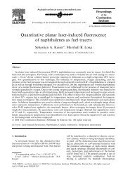 Quantitative planar laser-induced fluorescence of ... - Yale University