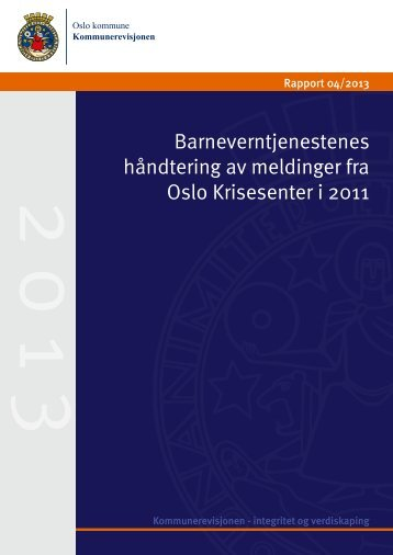 Rapport - Kommunerevisjonen