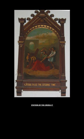 STATION OF THE CROSS # 7