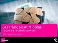 Les Français et l'Hôpital - TNS Sofres