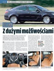 testy opel InsIgnIa 1.4 Turbo sTarT-sTop - Opel Dixi-Car