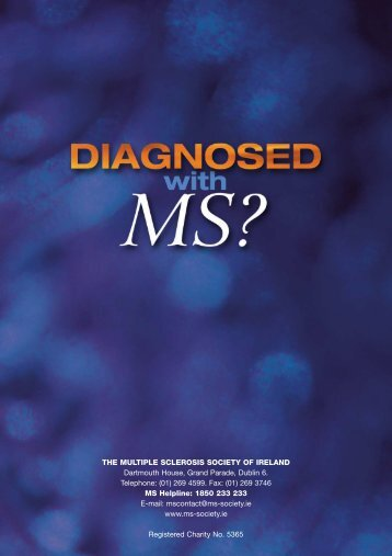 Diagnosed with MS - MS Ireland
