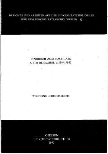 r - Zur Giessener Elektronischen Bibliothek