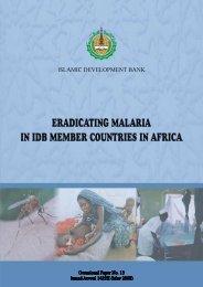 Occasional Paper on Malaria - Islamic Development Bank