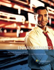 Microsoft Dynamics GP 10.0 - Integrated Business Solutions