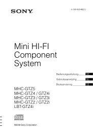 Mini HI-FI Component System