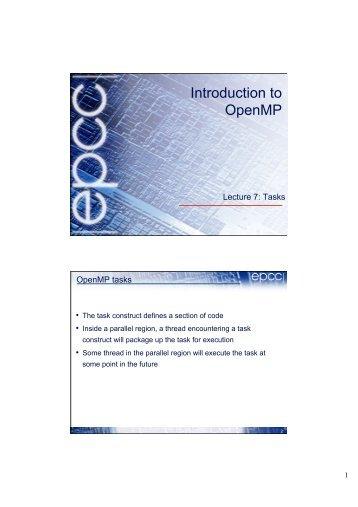 Tasks - Prace Training Portal
