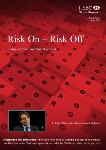Risk On – Risk Off-Fixing a broken investment process - Forex Factory