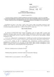 Projekt uchwały Rady Powiatu Pszczyńskiego w sprawie zmiany ...